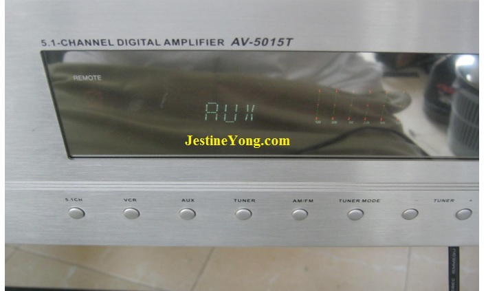 how to fix a broken surround sound amplifier