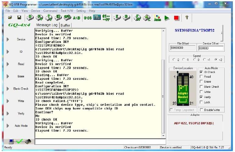 TSOP32 software